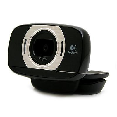 LOGITECH C615 HD Portable 1080p Webcam Autofocus PC & Mac