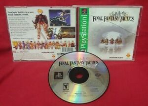 Final-Fantasy-Tactics-Playstation-1-2-PS1-PS2-Game-Complete-Tested-Works-Rare