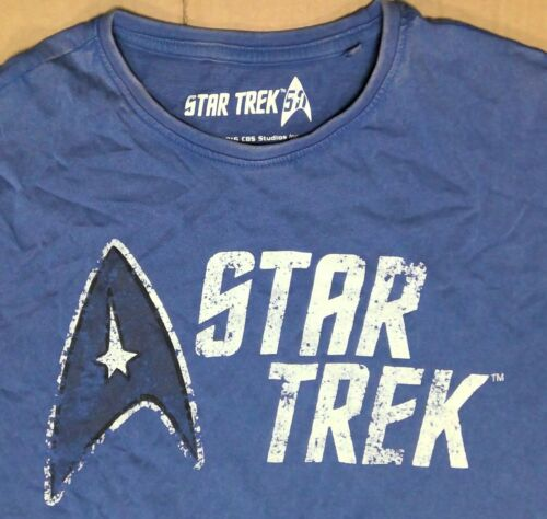 Mens Ex Store Star Trek official merchandise Logo T Shirts