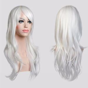 Long Thick White Wig 101