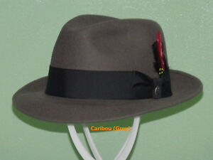336c4033c8b08 Image is loading STETSON-FREDERICK-WOOL-FEDORA-HAT