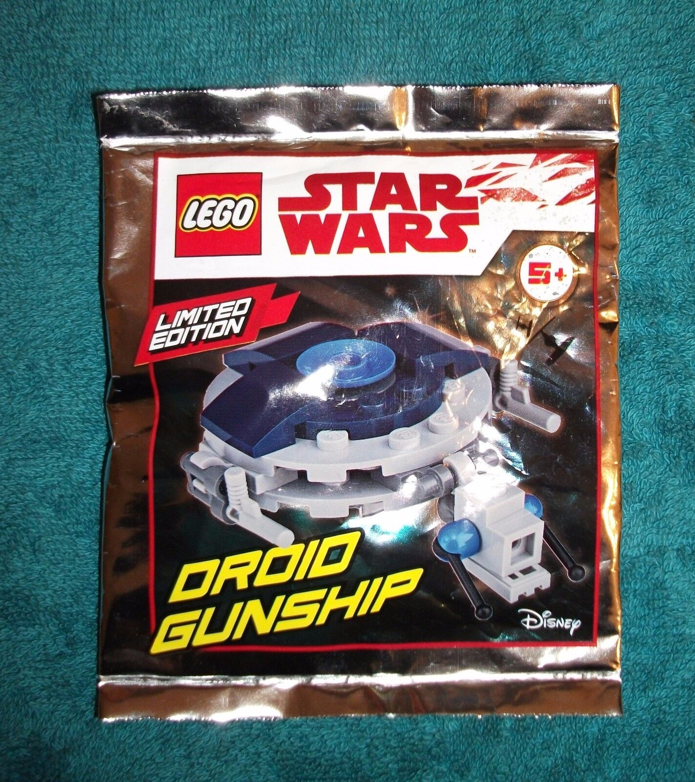 DROID GUNSHIP LEGO Star Wars - Sealed Promo Sachet PolyBag LIMITED EDITION
