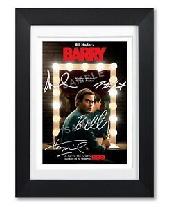 BARRY CAST SIGNED POSTER HBO TV SHOW SERIES SEASON PRINT PHOTO AUTOGRAPH GIFT
