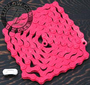 PINK SINGLE SPEED BIKE BICYCLE 1//2X1//8 BMX BEACH CRUISER YBN CHAIN