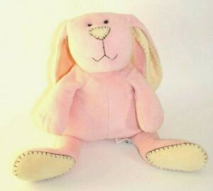 Pottery Barn Kids Plush Pink Amp Cream Bunny Rabbit 15