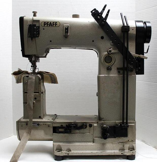 PFAFF 40 Post Bed 40needle Walking Foot Chainstitch Industrial Custom Pfaff Walking Foot Sewing Machine