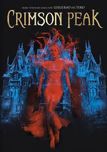Crimson Peak DVD NEW Free Shipping
