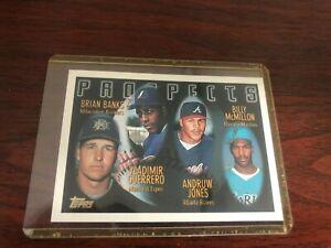 1996-Topps-Vladimir-Guerrero-Andruw-Jones-joint-rookie-Atlanta-Braves-Montreal