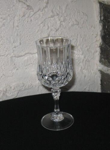 "Long champ/'s /""WINE GLASS 6 OZ  /"" Fine crystal LOT OF 6"