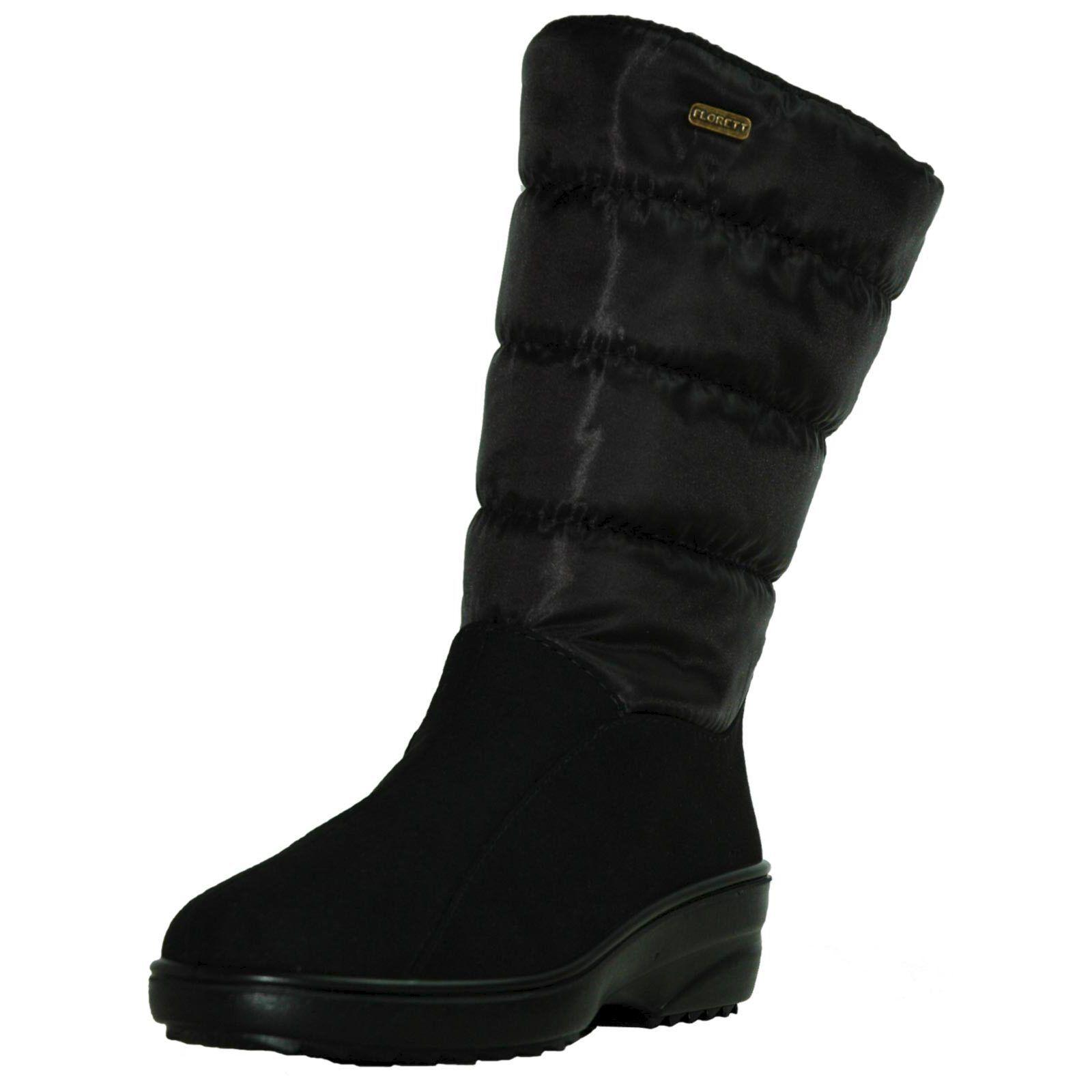 botas Negras Florett Florett Florett Elke señoras, muslo de señora, Zapato de Invierno para Mujer  promociones emocionantes