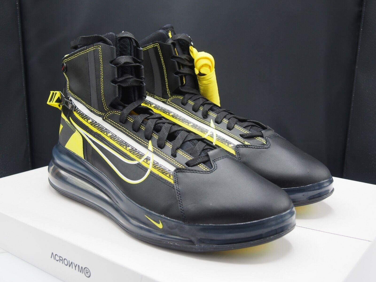 Nike Air Max 720 Saturn  All Star QS Motorsport BV786 -001 Men Dimensione 12 US  prendiamo i clienti come nostro dio