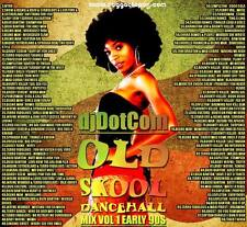 OLD SKOOL REGGAE DANCEHALL 90'S MIX CD