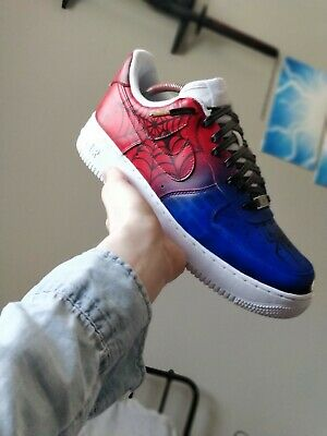 Nike Air Force 1UK size 8 *Spider man