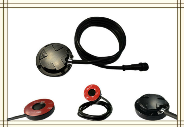 Waterproof Ultrasonic oil quantity sensor RS232/RS485 5-100cm vehicle fuel tank