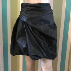Leather Twisted Hoxie Hoxie Tous All Skirt 26 en Saints Noir 26 les v Saints Black Hoxie 8 Twisted Black Real Saints Genuine All Twisted Skirt cuir Taglia 8 Genuine Jupe vRaxYqIna