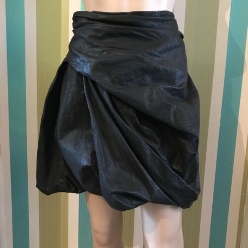 Twisted Saints Skirt Hoxie Real cuir Saints Leather v Twisted 26 en 8 Black 26 les Saints Taglia Hoxie Noir Tous Hoxie Skirt All Twisted Black Genuine All Genuine 8 Jupe FtwdqF