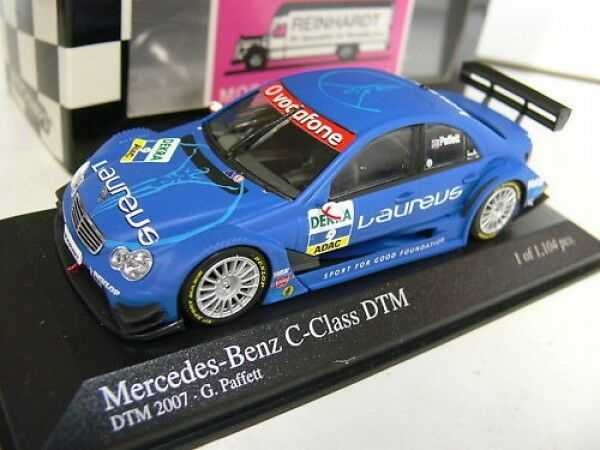 1/43 Minichamps MB Classe C DTM 2007 G. Paffett  9 400073609