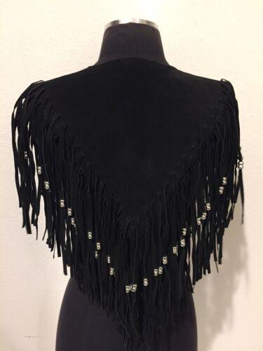 perles femmes mode Western et Tillmans avec Accessoire pour Cape de franges vqR1f