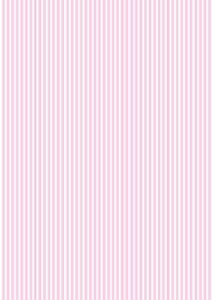 Pink Stripe Baby Girl Shower Wallpaper A4 Sized Edible Wafer Paper