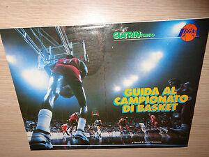 RARO-INSERTO-GUERIN-SPORTIVO-GU-A-AL-CAMPEONATO-BALONCESTO-1988-1989-MALAGI