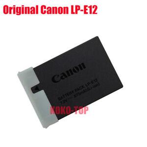 Genuine Original CANON Charger LC-E12e LP-E12 EOS-M EOS M2 EOS M10 EOS100D