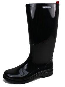 Räumungspreise Neuestes Design für die ganze Familie Details zu Bockstiegel Lola Damen Gummistiefel Regenstiefel schwarz  glänzend PVC Lackoptik