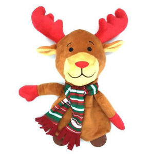 Ancol-Christmas-Happy-Rudolph-Dog-Toy