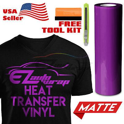 "Turquoise Matte Solid Heat Transfer Vinyl HTV T-Shirt 20/"" Iron Heat Press DP21"