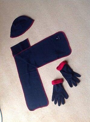 FleißIg Set Mütze, Schal, Handschuhe