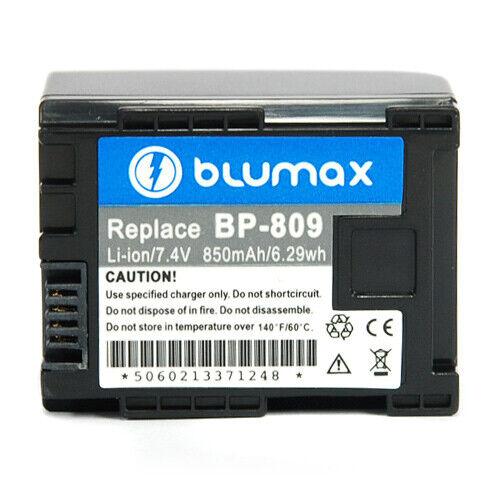 Batteria Blumax 7,4V 850mAh per Canon HF200,HF21,HG20,HG21,S100,HF G25