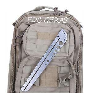 Tactical Survival Self Defense Telescopic Steel Rod//Emergency Escape Multi-Tool#