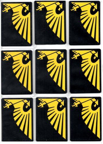 Warhammer 40k ccg Dark Millennium Base Set Rare cards 2//3