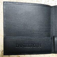 Rare Daniel Roth Card Holder Wallet Warranty Card Certificate Portadocumenti NEW