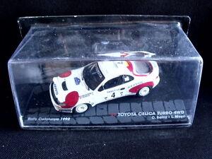 Rally-Model-Car-IXO-1-43-TOYOTA-CELICA-TURBO-4WD-C-Sainz-L-Moya-1992-MZ2
