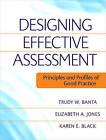 Designing Effective Assessment: Principles and Profiles of Good Practice by Elizabeth A. Jones, Karen E. Black, Trudy W. Banta (Paperback, 2009)