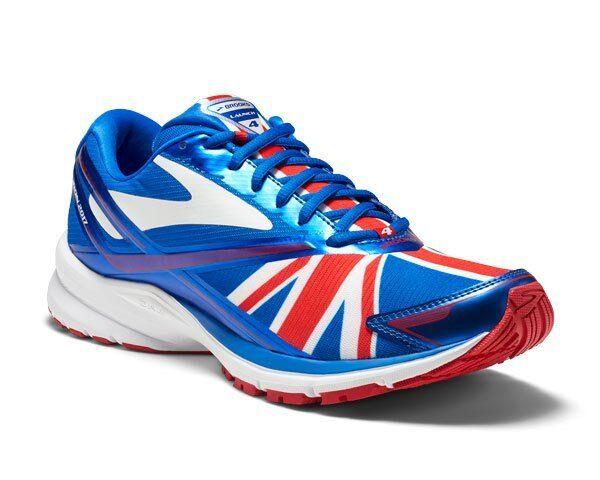 7cf6543d54b Brooks Launch 4 London Marathon United Kingdom Flag Men Running Shoes  110244 1d 11