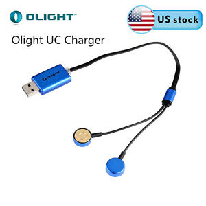 Olight UC Universal Magnetic USB Charger for 18650/16340/14<wbr/>500/26650 Battery