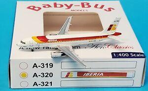 Aero Classics 1:400 Airbus A320-200 Iberia 'Sierra De Cazorla' EC-FAS