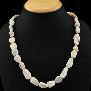 240-00-CTS-NATURAL-AAA-UNTREATED-AUSTRALIAN-OPAL-BEADS-NECKLACE-LOWEST-PRICE