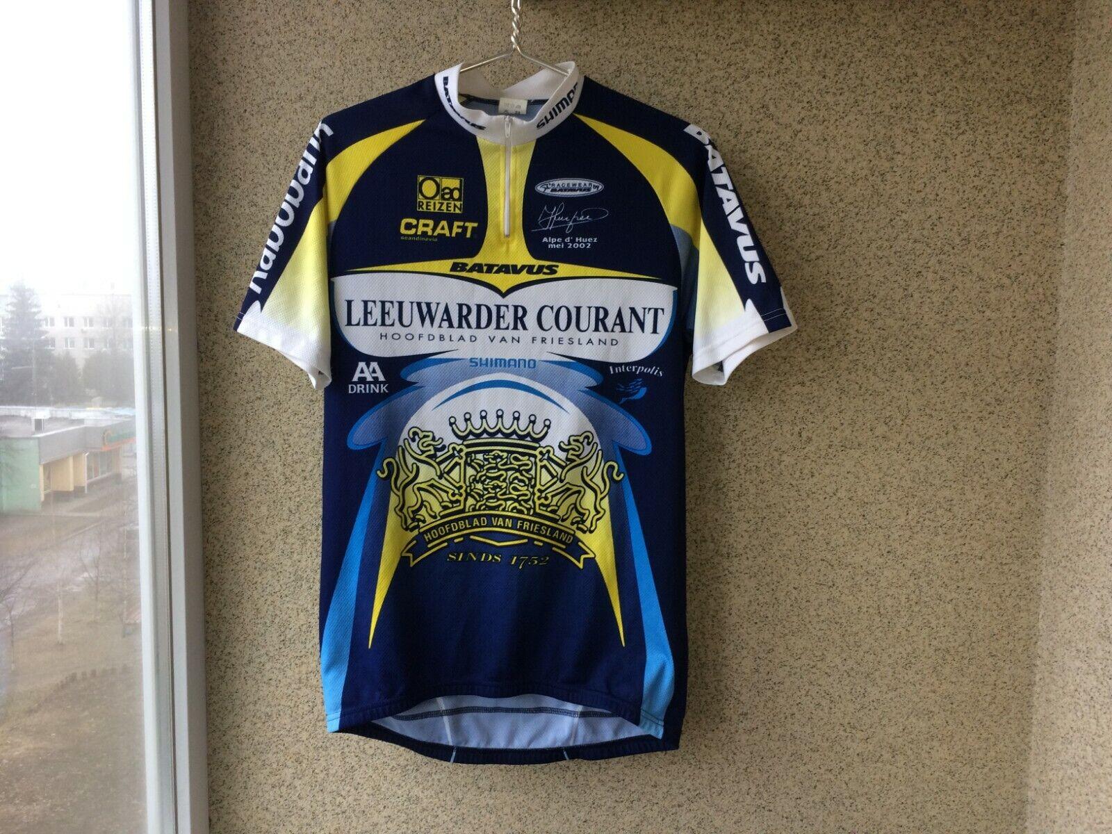 Leeuwarder Courant Cycling Shirt 6 Jersey Shimano Batavus Camiseta