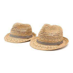 66149c35e7c Details about Men Women Kid Children Boy Girl Fedora Trilby Soft Straw Hats  Sunhat Caps Summer
