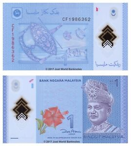 MALESIA-1-Ringgit-2012-Polymer-UNC-banconote-P-51