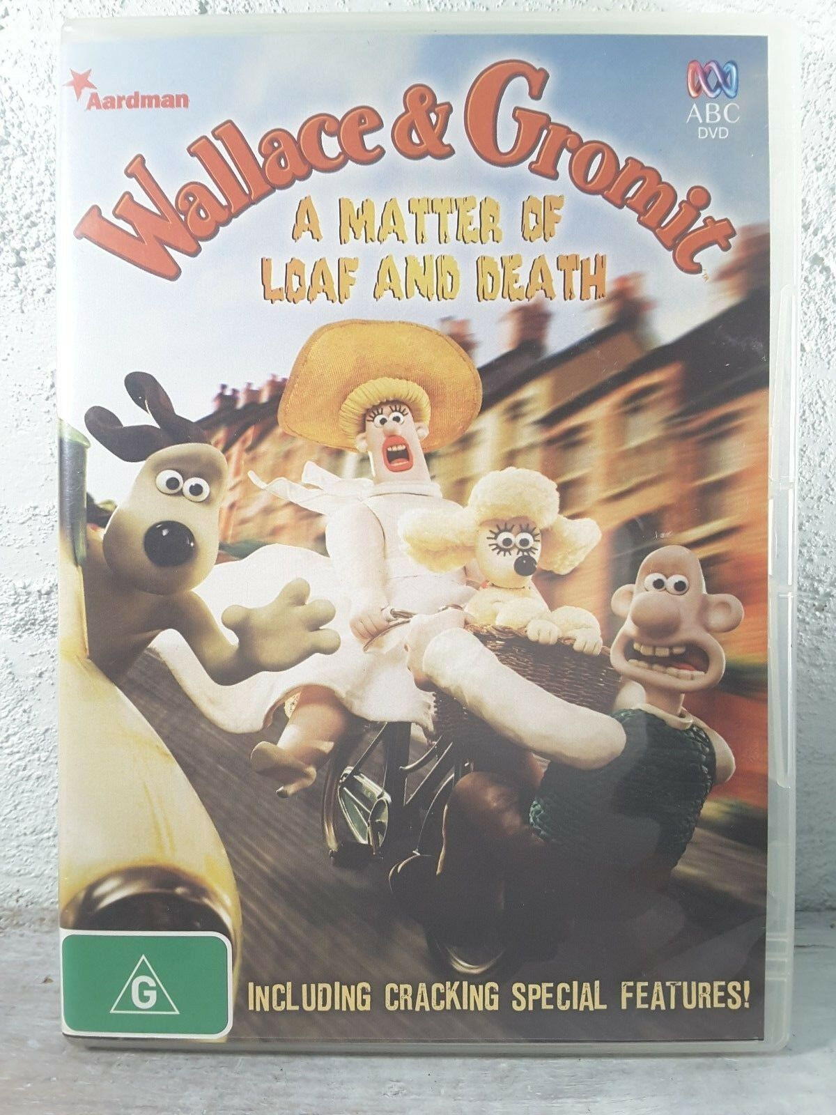 089cae1a0cfc Wallace And Gromit - A Matter Of Loaf And Death (DVD