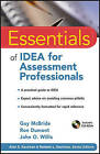 Essentials of IDEA for Assessment Professionals by John O. Willis, Ron Dumont, Guy McBride (Paperback, 2011)
