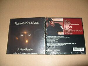 Frankie-Knuckles-A-New-Reality-cd-13-Tracks-Digipak-2004-New-amp-Sealed-D3