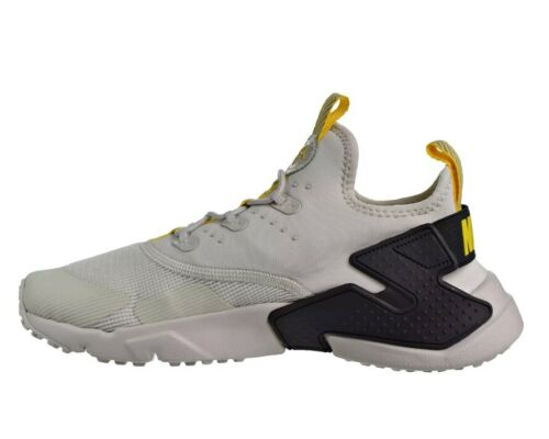 NIke Huarache Drift SZ 6Y Running Shoes Light Bone//Vivid Sulfur 943344-004