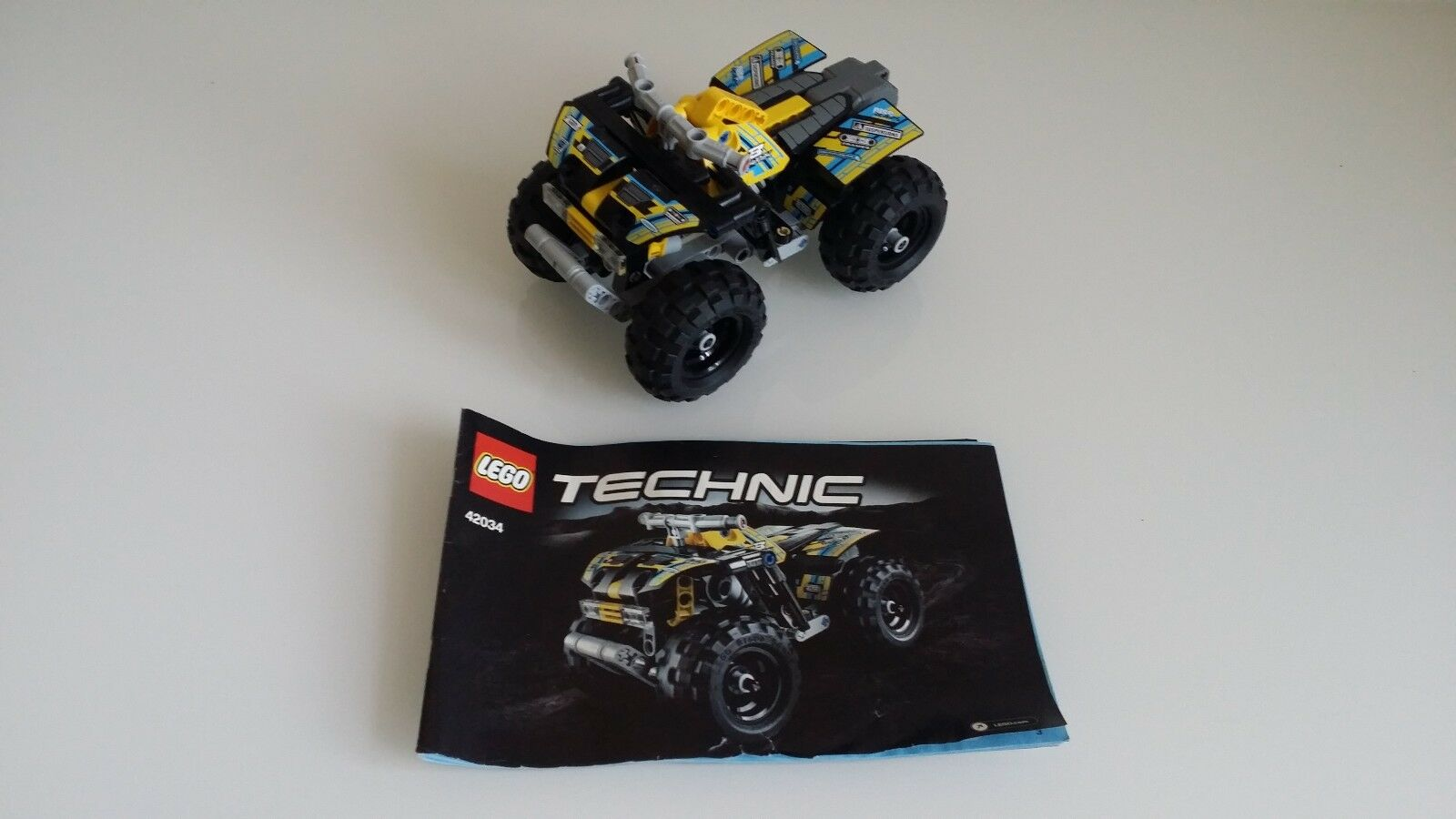 Lego Technic Quad Moto 42034 Avec Traction Arrière Complet GqSUMVzp