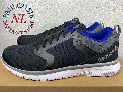 Reebok Men/'s PT Prime Runner Black Athletic Running Shoes Pick Size