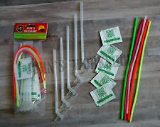 Deluxe Expanding Foam Insulation Sealant Straw Great Stuff Nozzle Bundle