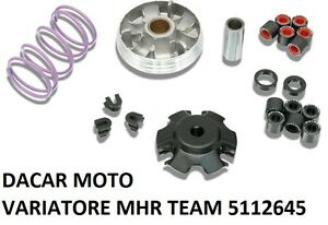 5112645 VARIATOR MALOSSI MHR TEAM MULTIVAR 2000 DERBI GP1 REVOLUTION 50 2T LC